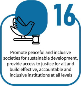 Promote Peaceful & Inclusive Societies